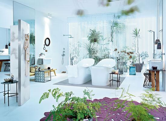 Salle de bains rétro | Inspiration bain