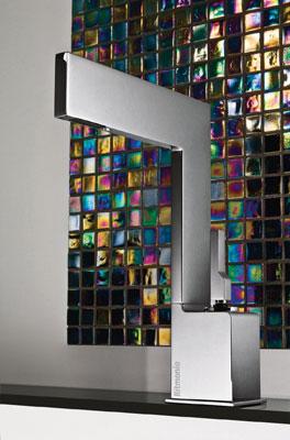 Tetris de Ritmonio, robinet de salle de bains