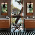 Meubles de salle de bains : esprit bois