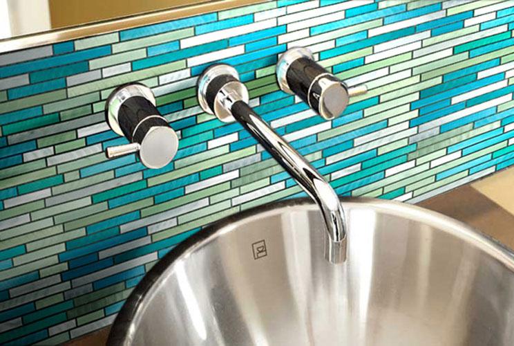 Carrelage inox inspiration bain - Caniveau inox salle de bain ...