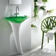 Une vasque d'inspiration végétale