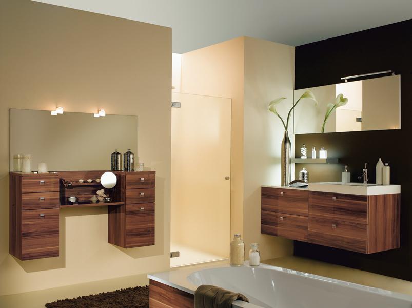 Meubles de salle de bains esprit bois inspiration bain for Mobilier de bain