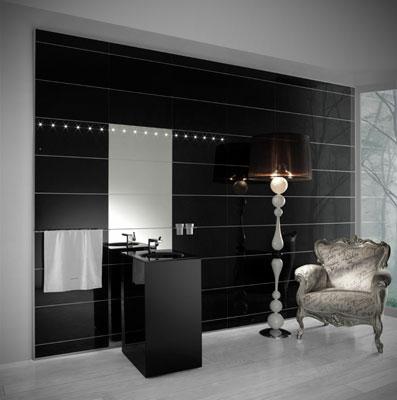 une paroi de verre pour d corer ses murs inspiration bain. Black Bedroom Furniture Sets. Home Design Ideas