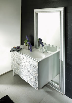 un meuble de salle de bains sculptural inspiration bain. Black Bedroom Furniture Sets. Home Design Ideas