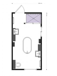 Plan salle de bains