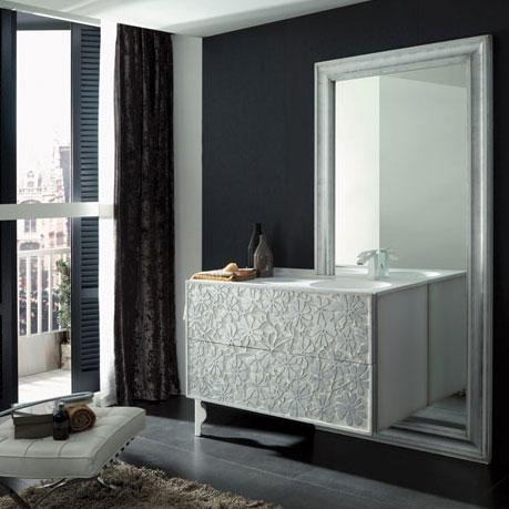 Un meuble de salle de bains sculptural inspiration bain - Meuble salle de bain pas chere ...