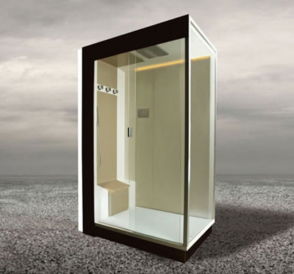 cabines circuit ferm la douche r invent e inspiration bain. Black Bedroom Furniture Sets. Home Design Ideas