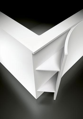 Baignoire Paper de Teuco. Baignoire design. Baignoire en Solid Surface. Baignoire en Duralight.