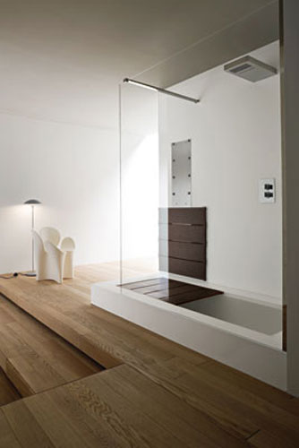 La douche baignoire de rexa inspiration bain - Baignoire douche design ...