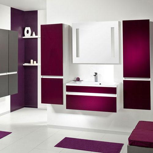 Une salle de bains graphique inspiration bain - Inspiration salle de bain ...