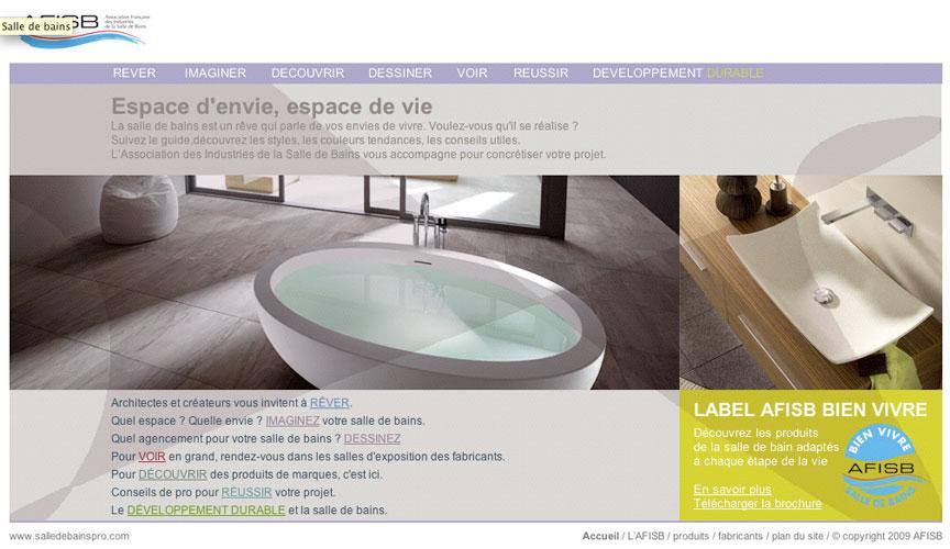 www.salledebains.fr, AFISB