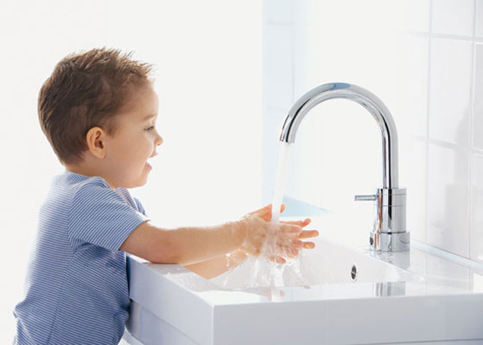 Alterna de Cedeo, robinet de salle de bains