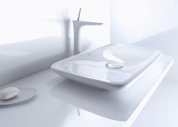 Mitigeur lavabo Pura Vida d'Hansgrohe, robinet de salle de bains
