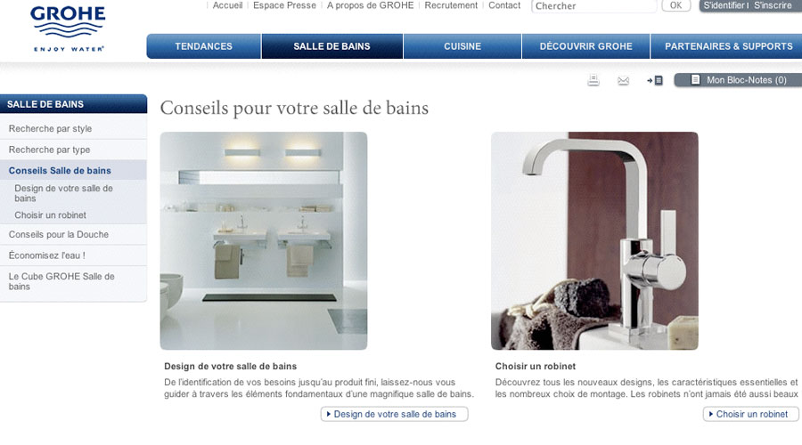 www.grohe.fr
