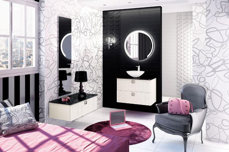 Oba de Mobalpa, salle de bains baroque, meubles de salle de bains