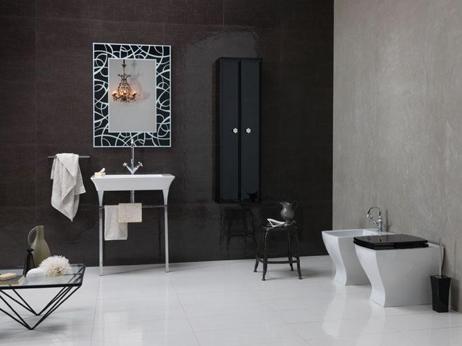 Collection Vintage de Regia, meubles de salle de bains