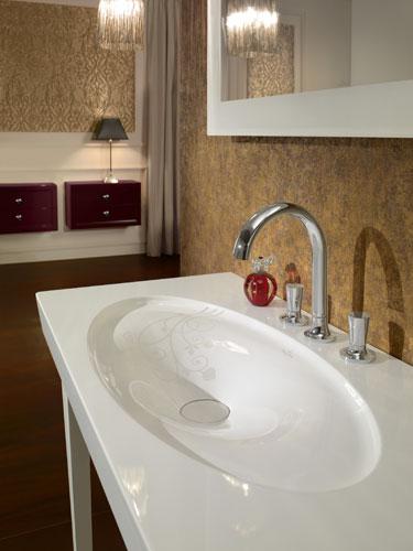 LaFleur de Villeroy & Boch, robinet de salle de bains