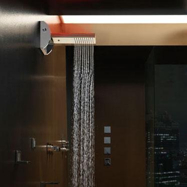 Une pomme de douche futuriste inspiration bain - Comment detartrer une pomme de douche ...