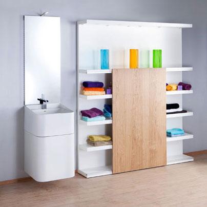 Une salle de bains minimaliste inspiration bain for Minimaliste electro