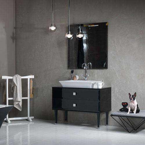 Une salle de bains vintage | Inspiration bain