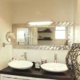 Une petite salle de bains astucieuse