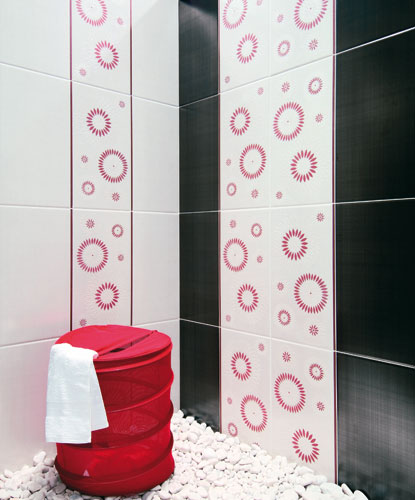 Collection Esquisse de Desvres, revêtement mural, carrelage de salle de bains