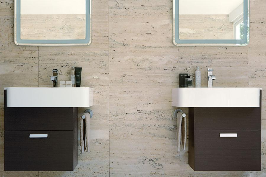My Way d'Idea Group, meubles de salle de bains, vasques,