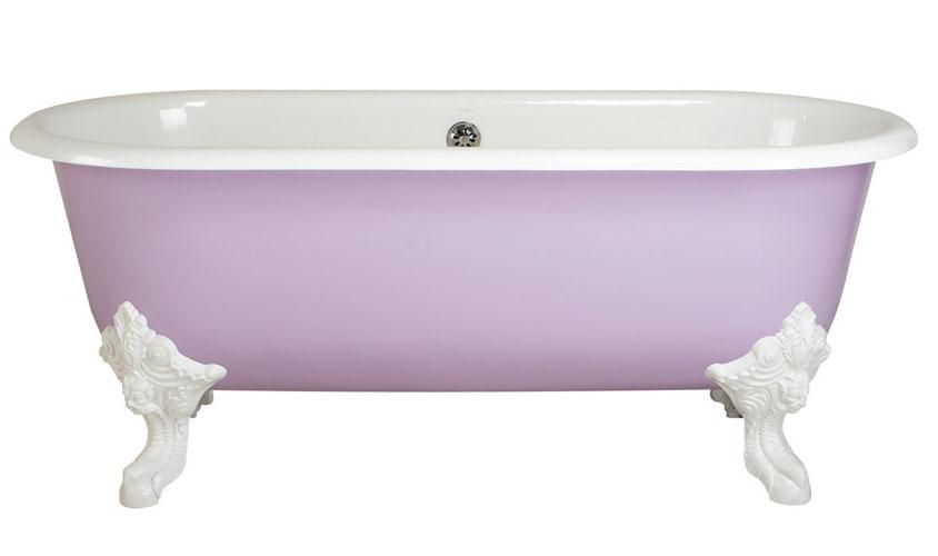 Cléo de Jacob Delafon, baignoire, couleur salle de bains