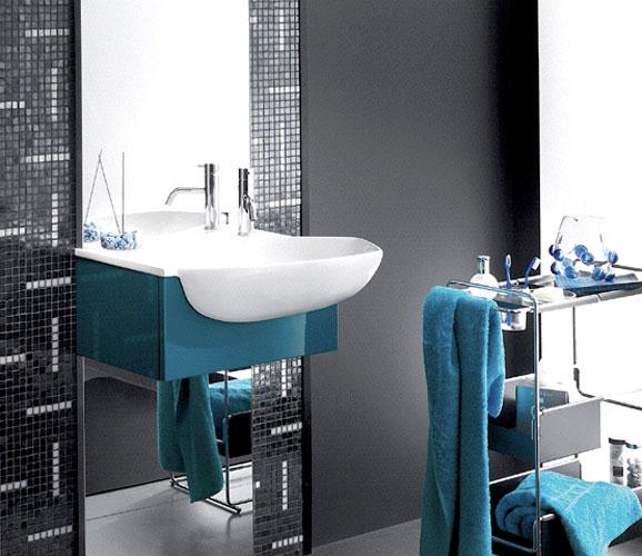 Ensemble Peter d'Inda, meubles de salle de bains
