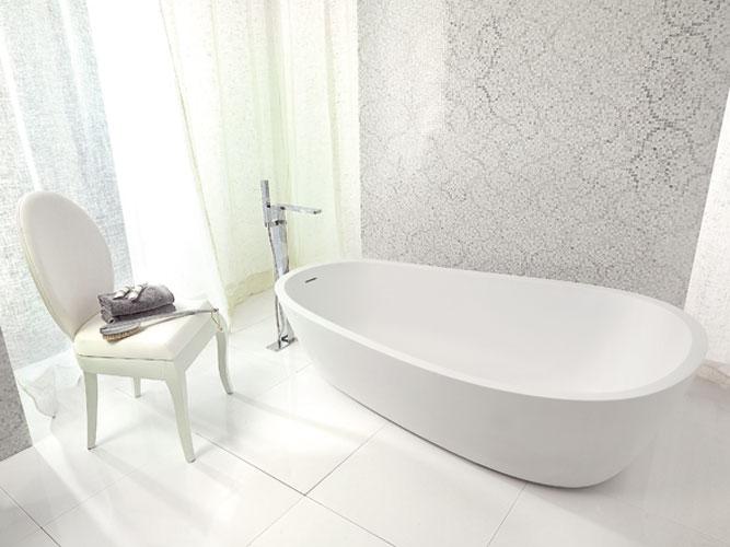 Puret et douceur dans sa salle de bains inspiration bain - Salle de bain porcelanosa prix ...