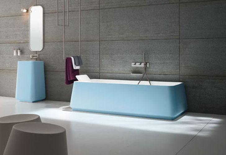 Opus de Rexa, baignoire, couleur salle de bains