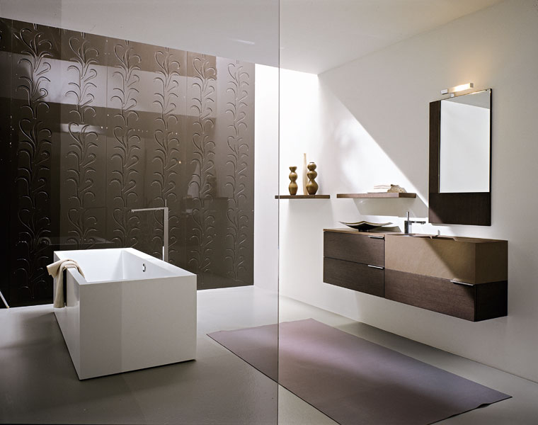 inspiration salle de bain design. Black Bedroom Furniture Sets. Home Design Ideas