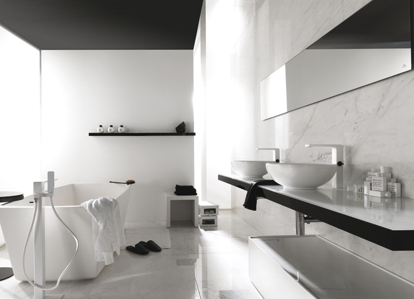la collection lounge de porcelanosa inspiration bain. Black Bedroom Furniture Sets. Home Design Ideas