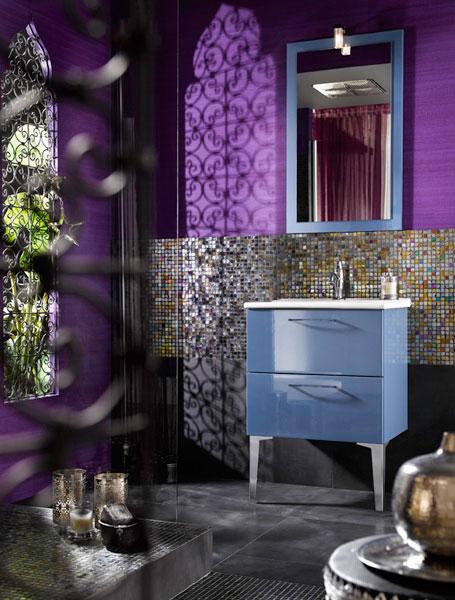 Collection Unique de Delpha, meubles de salle de bains