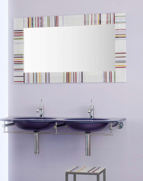 miroir de salle de bains o mon beau miroir inspiration bain. Black Bedroom Furniture Sets. Home Design Ideas
