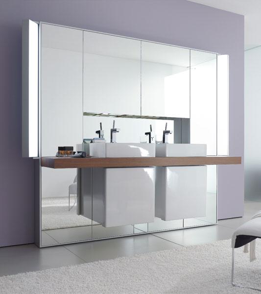 Miroir de salle de bains o mon beau miroir inspiration bain - Mur en miroir ...