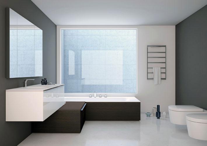 Des l ments modulaires pour personnaliser sa salle de for Element salle de bain