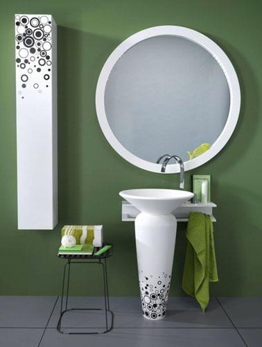 Milos de Regia-lavabo de salle de bains-vasque