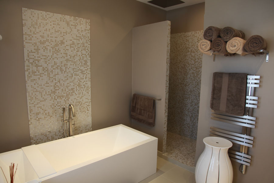 Baignoire En Mosaique. Awesome With Baignoire En Mosaique. Great ...