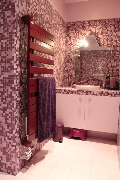 salle de bain beige et prune meubles salle bains modernes photos - Salle De Bain Beige Et Prune