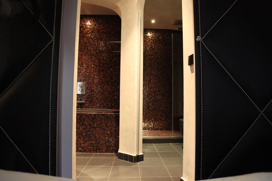 Conçue et réalisée par Image de Marc, architecture d'intérieur. Photos www.inspirationbain.com