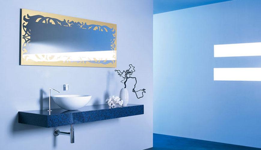 plan de toilette marbre