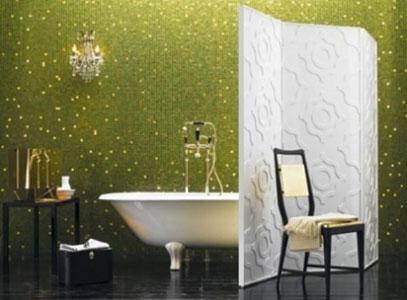 Bisazza-mosaïque-salle de bains
