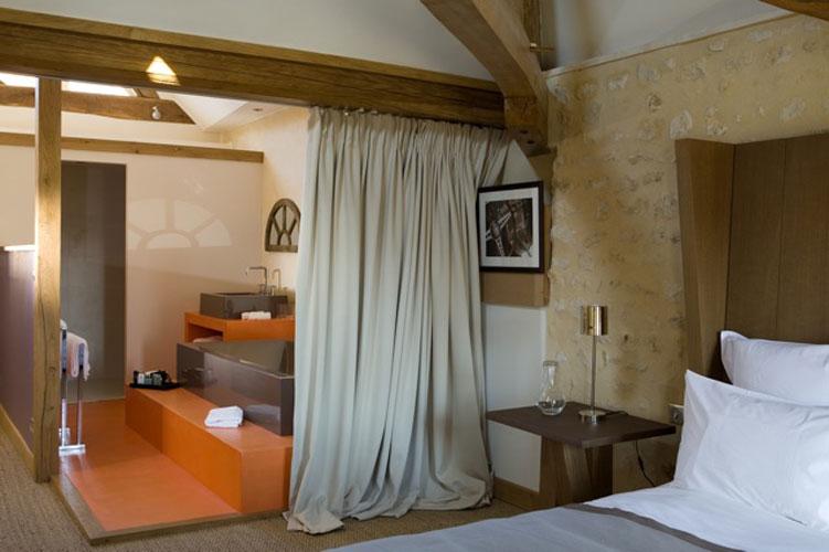 Tester sa salle de bains dans une chambre d 39 h tes for Salle bain ouverte chambre