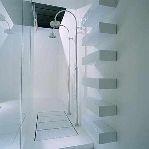 Brick de Flaminia-étagères salle de bains