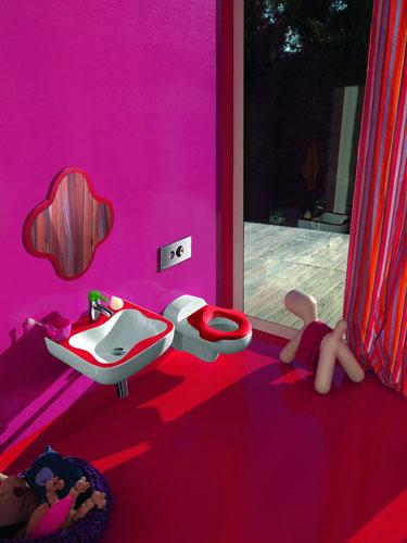 FloraKids de Laufen-salle de bains enfant