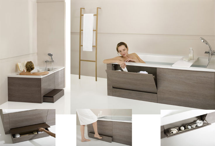 la baignoire multifonctions de jacob delafon inspiration bain. Black Bedroom Furniture Sets. Home Design Ideas