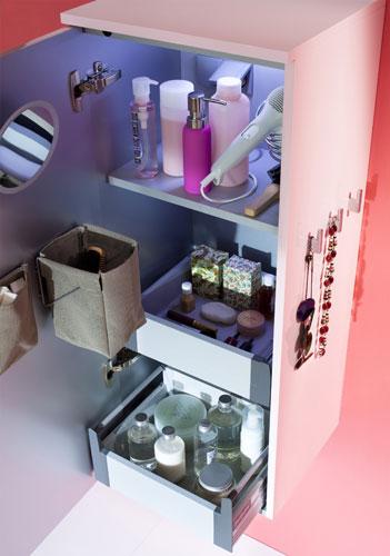 Rangements pour petite salle de bains inspiration bain for Petit rangement salle de bain