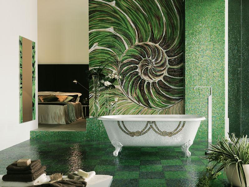 Décor Perry de Sicis-mosaïque-salle de bains