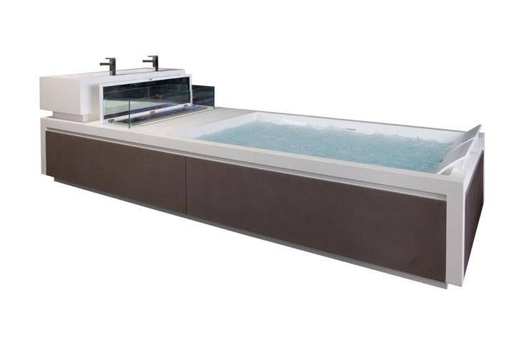 une chemin e dans sa baignoire inspiration bain. Black Bedroom Furniture Sets. Home Design Ideas